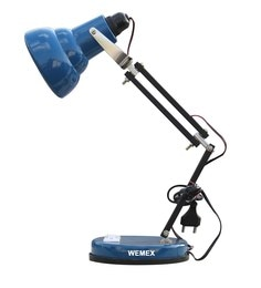 Study lamp online buy studydesk table lamps at best prices pepperfry blue aluminium study lamp aloadofball Gallery