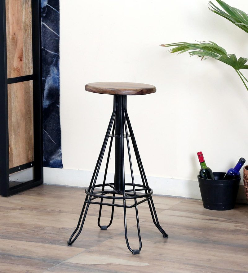 Westray Bar stool by Bohemiana & Buy Cycle Pedal Bar Stool in Brown Colour by The Yellow Door Store ... islam-shia.org