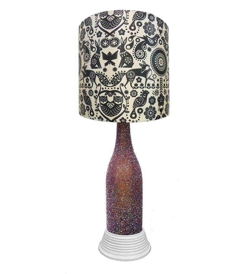 Buy What Scrap Indian Art Jugnu Table Lamp Online Modern