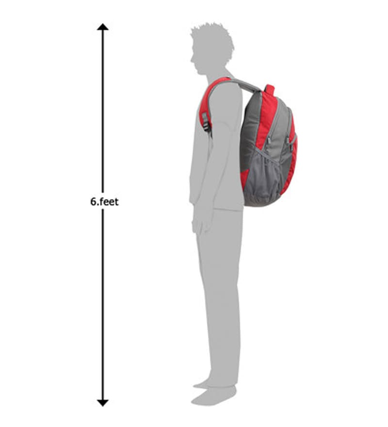 34129717f Wildcraft Ace 21 L Laptop Backpack Red