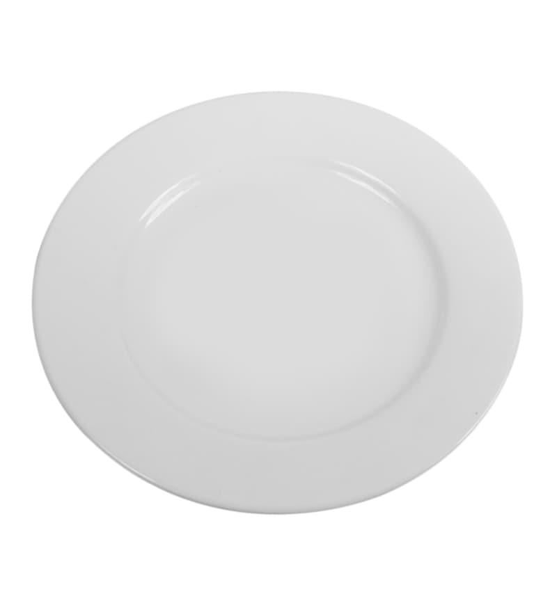 Wilmax England Ceramic Dessert Plate - Set of 6