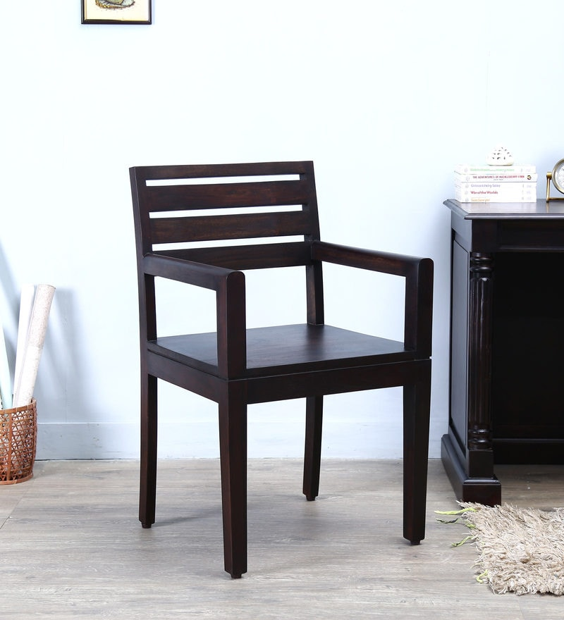 Winona Arm Chair in Warm Chestnut Finish by Woodsworth