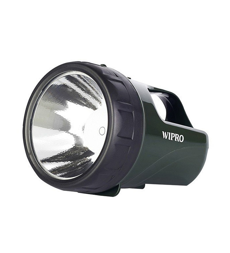 Wipro Pine Green LED Torch