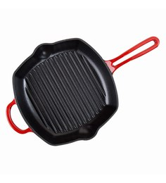 Wonderchef Cast-Iron Red Sandwich & Grill Maker