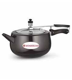 Wonderchef Raven 5 Litre Pressure Cooker With Stainless Steel Lid & Induction Base