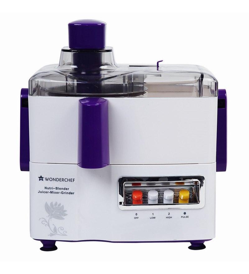 Wonderchef Nutri-Blender Juicer-Mixer-Grinder