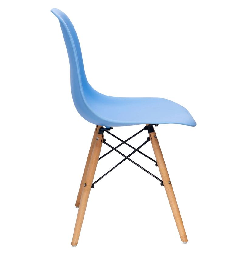 Woody Chair In Blue Colour By YiPi Online