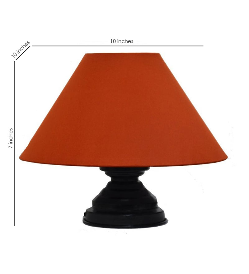Buy contemporary red 10 x 10 x 7 inch table lamp by for 7 inch table lamp shades