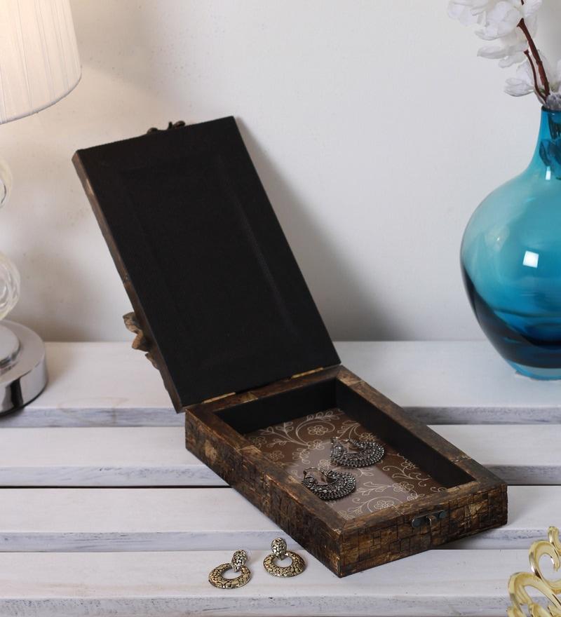 Yatha Wood & Acrylic Storage Box