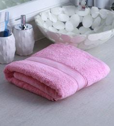 Pink 100% Cotton Bath Towel - 1644730