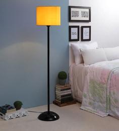 Yellow Fabric Floor Lamp - 1693729