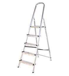 Youngman Classic Aluminium 5 Steps 5.5 FT Ladder