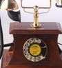 Brown Wooden Shack Maharaja Retro Telephone by Zahab