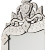 Abelsdottir Decorative Mirror in Silver by Amberville