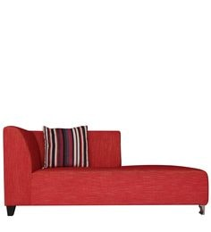 Zurich RHS Two Seater Chaise In Red Colour