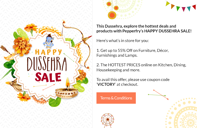 Happy Dussehra Sale!!