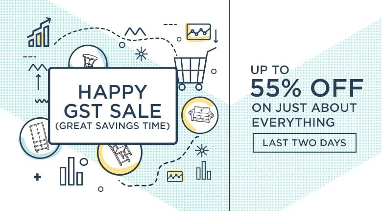Happy Great Savings Time Sale